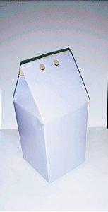 Caixa Lembranca Milk Vivarte Lilas 17 Centímetros R.2305 Com 6