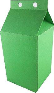 Caixa Lembranca Milk Vivarte Verde Musgo 17 Centímetros R.2303 Com 6