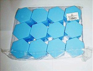 Caixa Sextavada Kriat Azul Bebe R.12434 Unidade