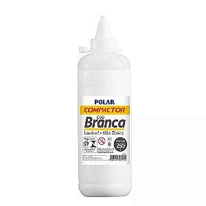 Cola Branca Polar Compactor 250 Gramas - Unidade