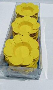 Forminha Decorativa Nb Formas C1 Amarelo Com 50