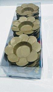Forminha Decorativa Nb Formas C1 Dourado Com 50