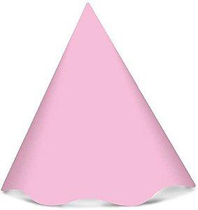 Chapéu de Papel Regina Cor Rosa Bebê R.578 Pacote Com 8