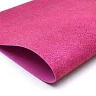 Placa Eva Com Glitter Rosa Pink 40cmx48cm Unidade
