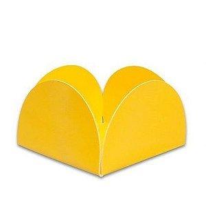 Forminha 4 Pétalas Amarelo Com 50