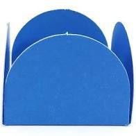 Forminha 4 Pétalas Azul Com 50