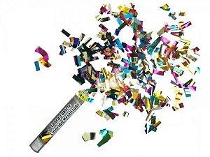 Lanca Confete Colorido Metalizado R.Lcp003 Unidade