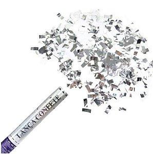 Lanca Confete Prateado Metalizado R.Lcp002 Unidade