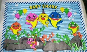 Painel Tnt Baby Shark Unidade