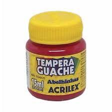 Tinta Guache Acrilex 15Ml Magenta R.020150549 Unidade
