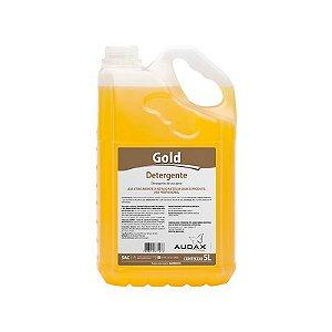 Detergente Gold Concentrado Neutro Audax com 5 Litros