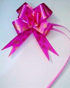 Laço Fácil 18Mm Fantasia Rosa Pink R.254303 Unidade