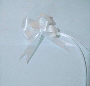 Laço Fácil 18Mm Liso Branco R.254109 Unidade