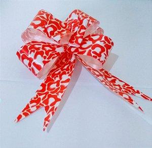 Laço Fácil 30Mm Vermelho e Branco R.2553826 Unidade