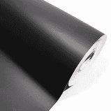 Plastico Adesivo Contact Vmp-Tac Preto Fosco R.2231808 Metro