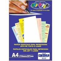 Papel Vergê Branco Off Paper A4 180gr com 50 folhas