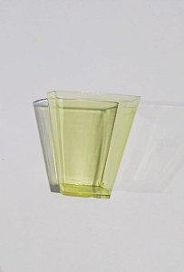 Copo Cristal Plastilania Pic Amarelo Ouro Ref 051 Com 10
