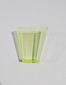 Copo Cristal Plastilânia Amarelo Pic 051 50ml Pacote Com 10