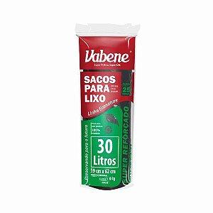 Saco Lixo Vabene 30 Litros Rolo Com 25 Sacos Com R.2593