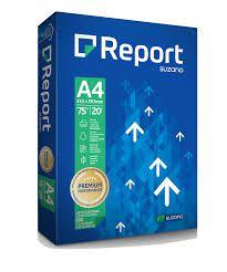 Papel A4 Report 210x297 Pacote Com 500 Folhas