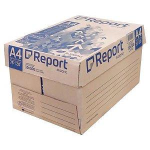Papel Report Formato A4 21cm x29cm Caixa Com 10 Pacotes Com 500 Folhas