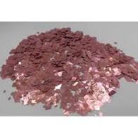 Confete Metalizado Para Decoração De Balões e Bubbles Transparentes Formato Picados Cor Rosa Pacote Com 15 Gramas