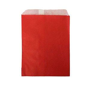 Saquinho de Papel Vermelho 13cm X18cm R.ep2088 Pacote Com 25