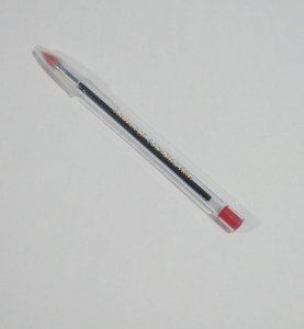 Caneta Esferográfica Compactor Economic Fina Cor Vermelha 1.0mm Unidade
