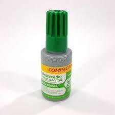 Reabastecedor para Pincel de Quadro Branco Compactor Cor Verde 20ml Unidade
