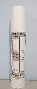 Saco Plástico Em Rolo 50cm x 70cm Em Média 280 Sacos