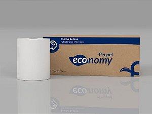 Toalha Em Bobina Propel Economy Folhas Simples 100% Celulose Virgem 20cm x 200 Metros R.Tb Ec 20223