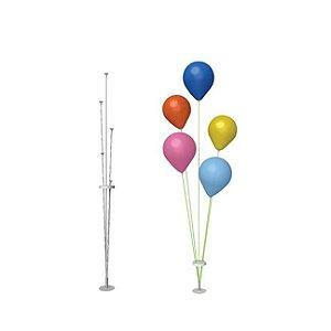 Suporte de Fibra para Balão Cor Branco 40 Centímetros R.dc1015/3028 Unidade