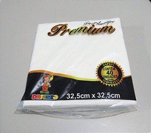 Guardanapo Premium Dafesta 30cm x 33cm Pacote Com 40