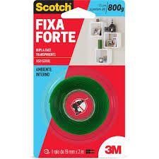 Fita Fixa Forte 3M 19Mm x 2 Metros R.Hb004419881 Unidade
