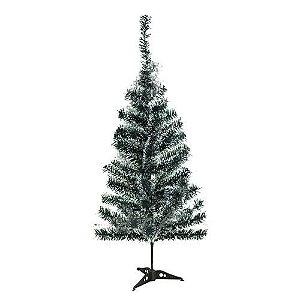 Árvore de Natal Luxo Nevada 90cm Com 70 Galhos Unidade