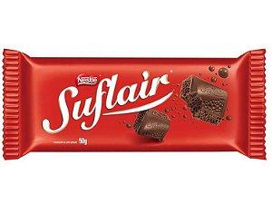 Chocolate Nestlê Suflair Ao Leite Aerado 50 Gramas Unidade