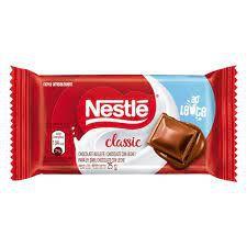 Chocolate Nestlê Classic Ao Leite 25 Gramas Unidade