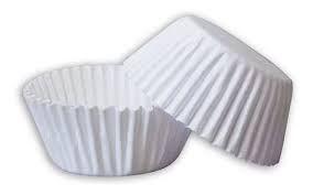 Forminha de Papel Dafesta Número 2 Cor Branca Pacote Com 100