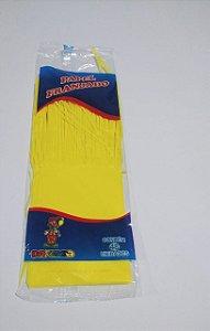 Papel de Bala Dafesta Com Uma Franja Cor Amarelo Pacote Com 48