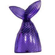 Enfeite Decorativo Plástico Cauda de Sereia Cor Lilás Unidade