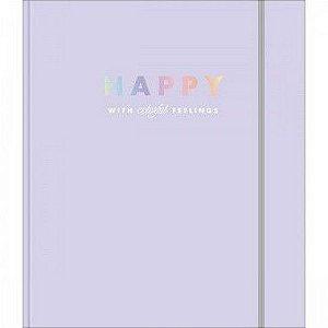 Caderno Argolado Com Elástico Colegial Tilibra Happy 80 Folhas R.310280 Unidade