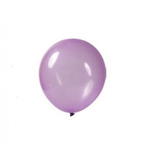 Bola Art Latex Cristal Candy N9 Lilás Com 24