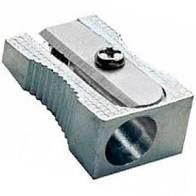 Apontador Simples Retangular Leoleo Cor Metálico R.99030/4209 Unidade