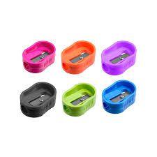 Apontador Plástico Nem Simple Leoleo Cores Sortidas R.4125 Unidade