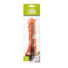 Estilete Largo Plástico Leoleo Cor Sortida R.91411 Unidade