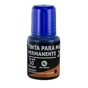 Reabastecedor para Pincel de Quadro Branco Leoleo Azul 20ml R.96067 Unidade