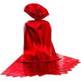 Saco para Presente Cromus Metalizado Vermelho 20cm x 29cm (não Acompanha o Laço) Unidade