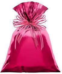 Saco para Presente Cromus Metalizado Rosa 30cm x 44cm (não Acompanha o Laço) Unidade