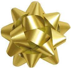 Laço Pronto Adesivado Cromus Ouro Unidade