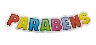 Faixa de Aniversário Nc Toys Parabéns Unidade